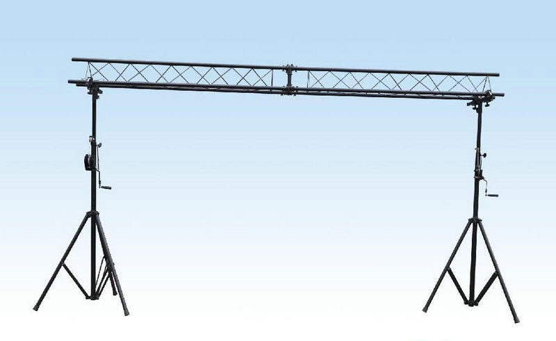 Aluminum Spigot Roof Truss Crank Stand For LED Screen Truss/ Speaker truss lift stand /Telescopic lifting Tower