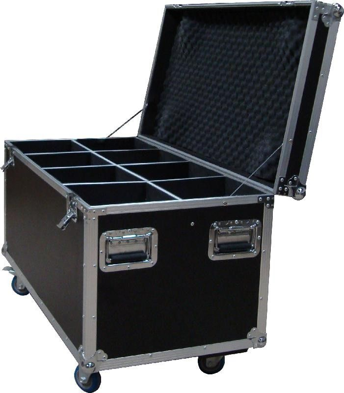 20U Standard Rack Flight Case With 9mm Plywood