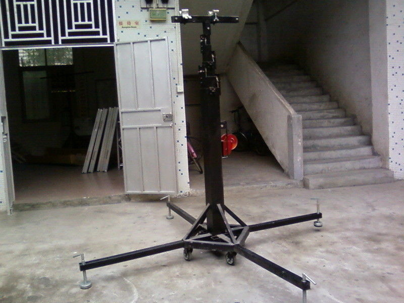 4 Leval  Adjustable Outdoor Concert Truss Crank Stand / Global DJ Truss Stands