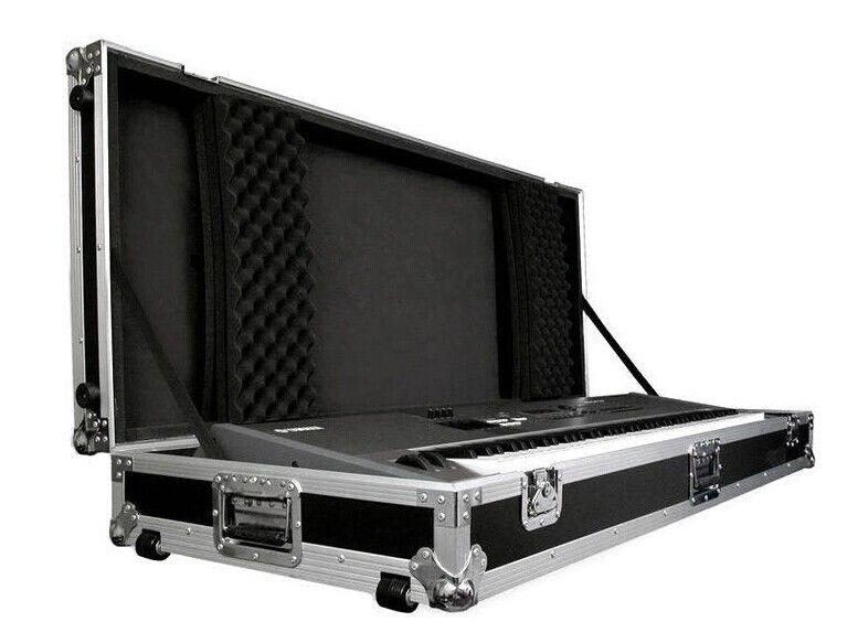 Customize 2u To 24u Aluminum Case Rack Flight Case With Black