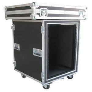 Print Logo Rack Case Aluminum Storage Cases With Anti - shock Foam Inside
